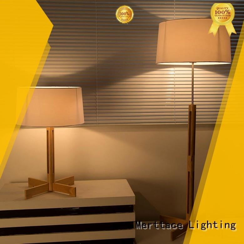 antique brass table lamp acrylic for hotel Merttace