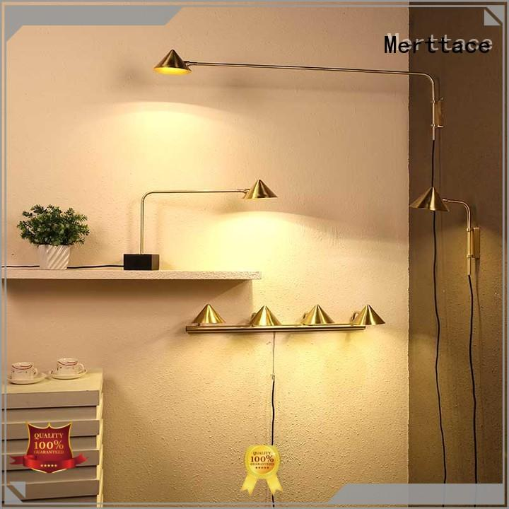 Merttace aluminum bedside table lights with good price for home decoration