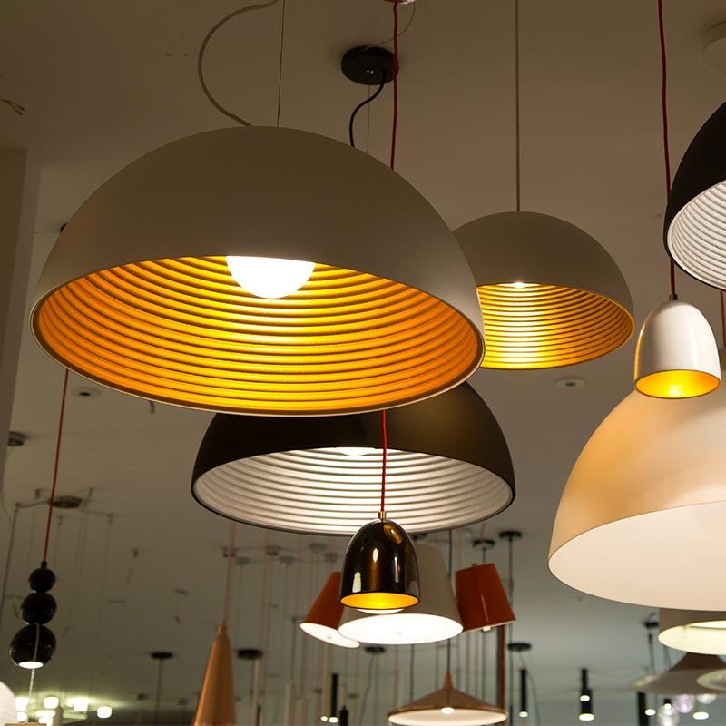 High Quality Modern Decoration Half Circle Hanging Light for Hotel M1028