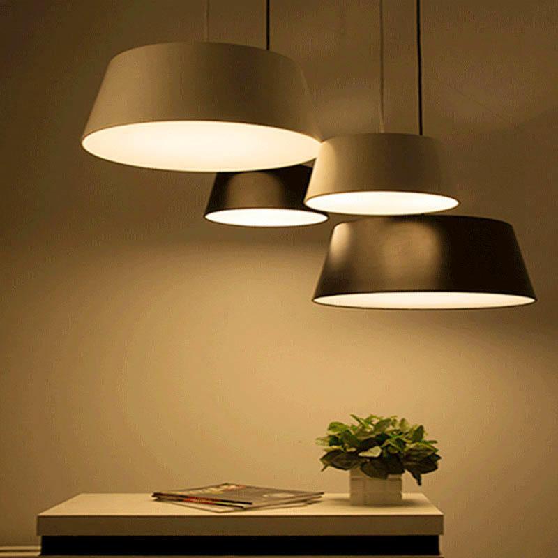 Contemporary Design Frustum Lamp Shade Single Head Hanging Light M10020