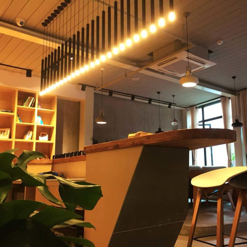 LED Contemporary Pendant tube Light for Restaurant M10151