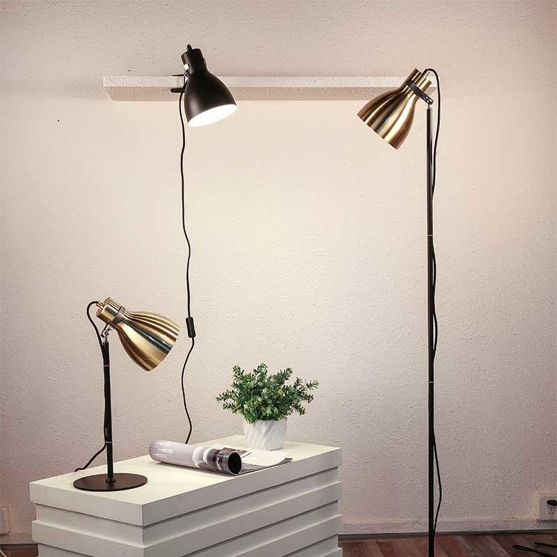 Contemporary Decoration Brushed Iron Classic Reading Table Lamp  M20074