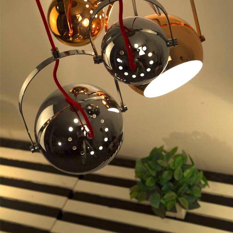 Modern Design Fancy Copper shade with White Inner Finish Pendant Light M10552