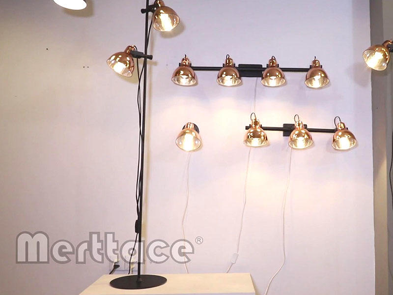 Electroplated Lamp Shade Moving Head Series-M10700&40091&30059
