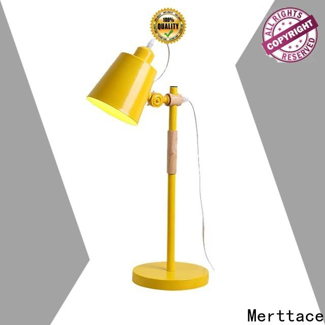Merttace wholesale night table lamps supply for hotel