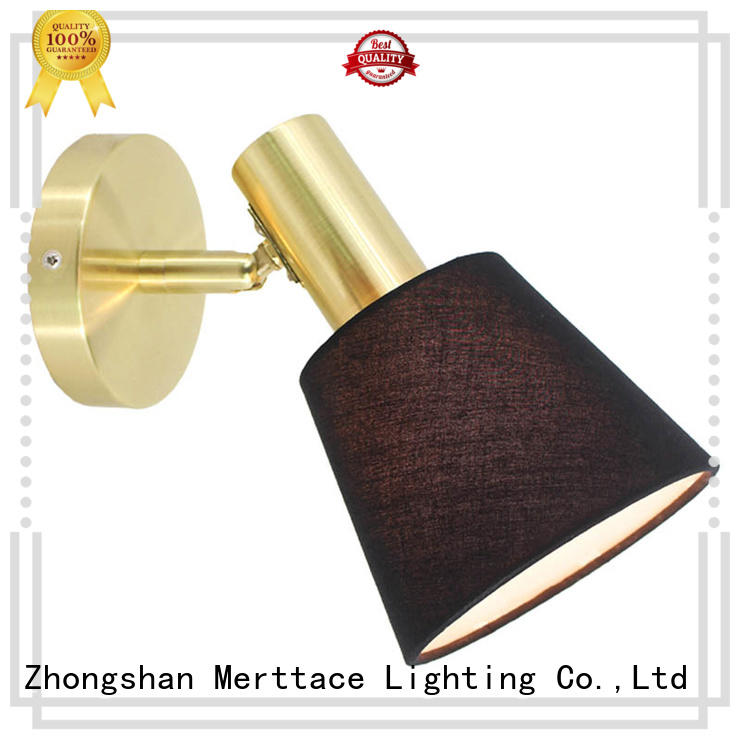 Merttace dual wall mount plug in lamp design for restaurant