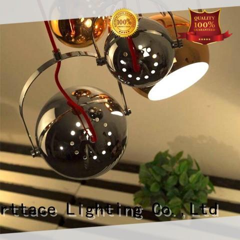 Merttace frosted glass square modern hanging lights wholesale for restaurant