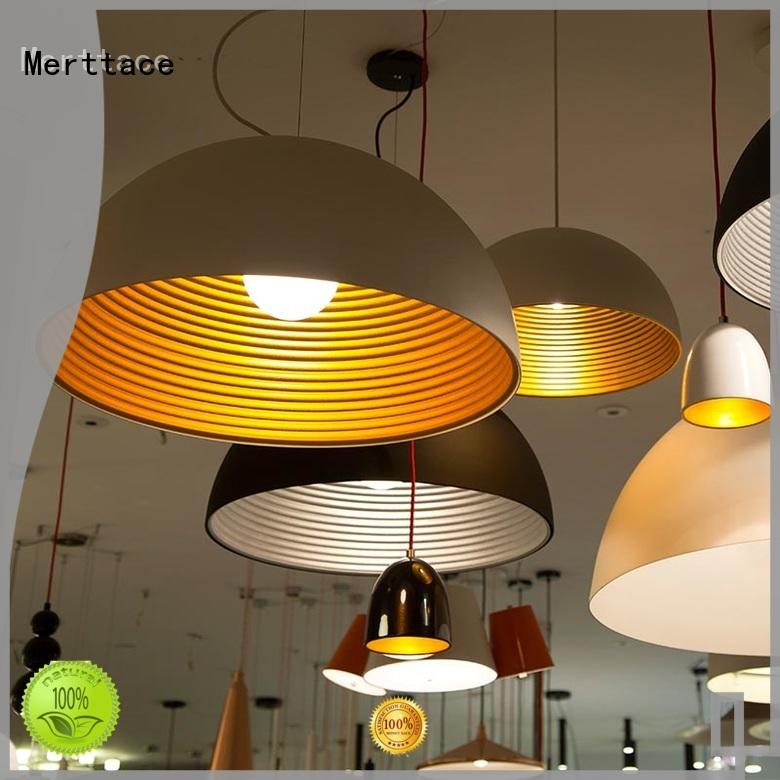 Merttace fashion pendant light fixtures with good price for hotel