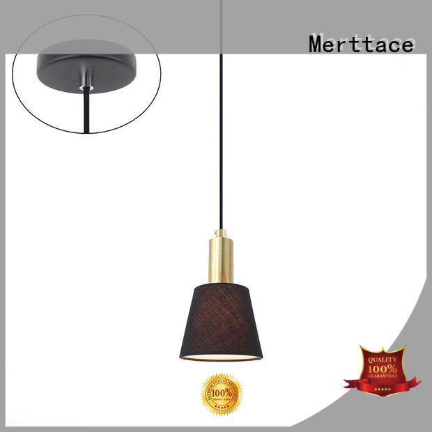 Merttace black pendant light fitting manufacturer for indoor decoration