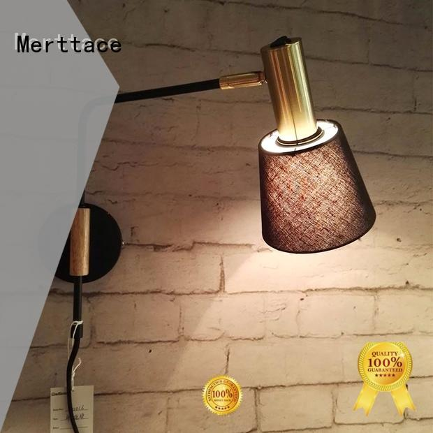 Merttace wall mount plug in lamp directly sale for living room