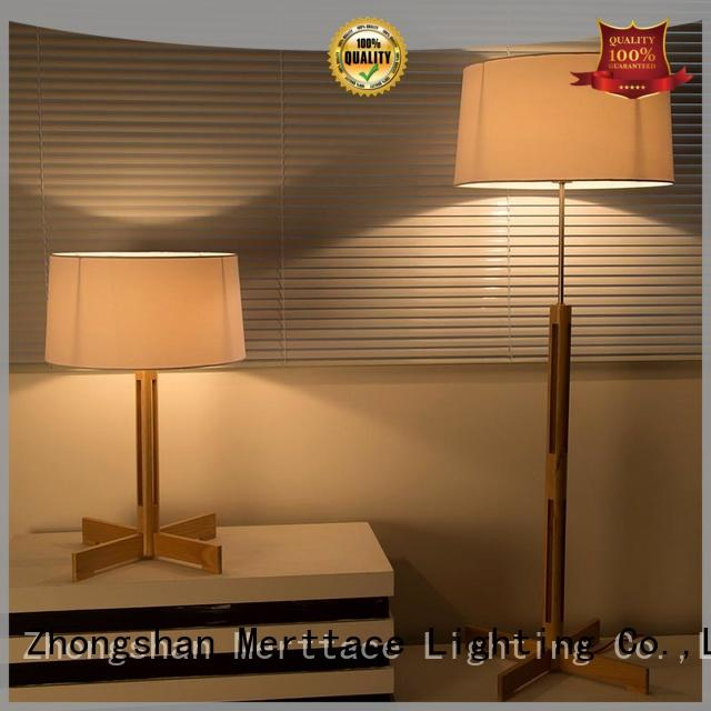 Merttace usb charging night table lamps directly sale for hotel