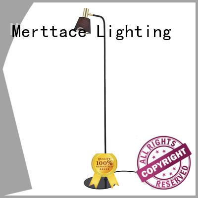 Merttace wooden floor standing lights design for home