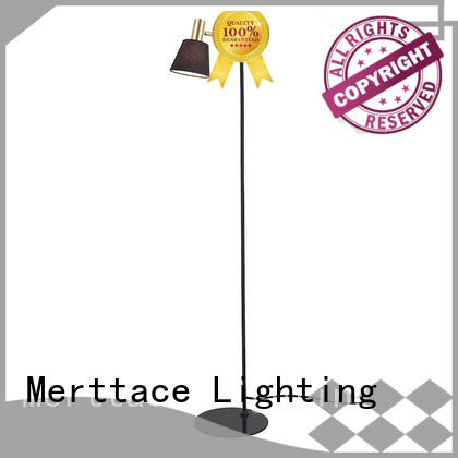 Merttace iron floor stand light factory for bedroom