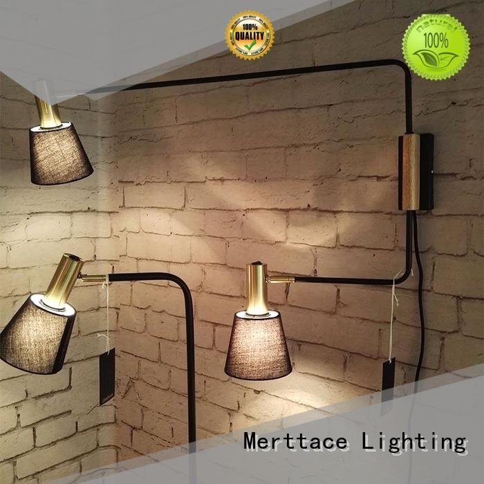 Merttace wall mounted lamps supplier for indoor decoration