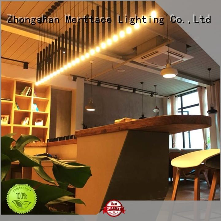 Merttace frosted glass square pendant fixture supplier for indoor decoration