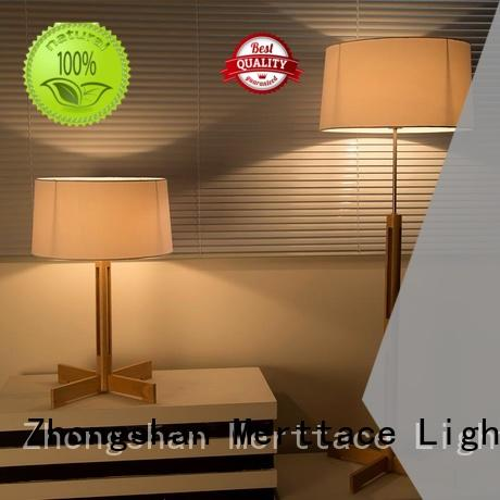 Merttace attractive bedside table lights customized for bedroom