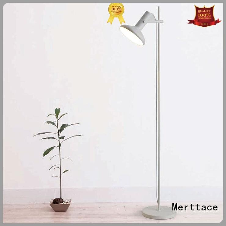 Merttace single head floor standing reading lamp wholesale for home