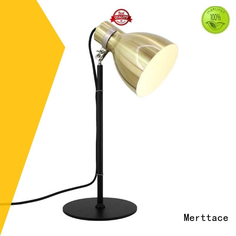 Merttace multi-shaped table light iron for bedroom