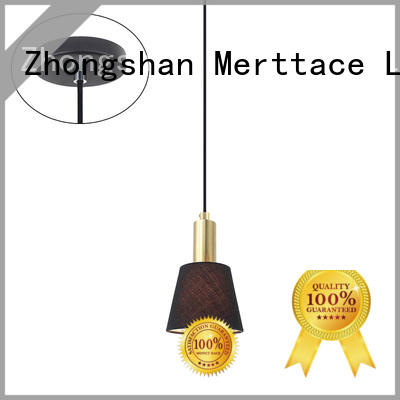 Merttace hanging pendant lamp factory for restaurant