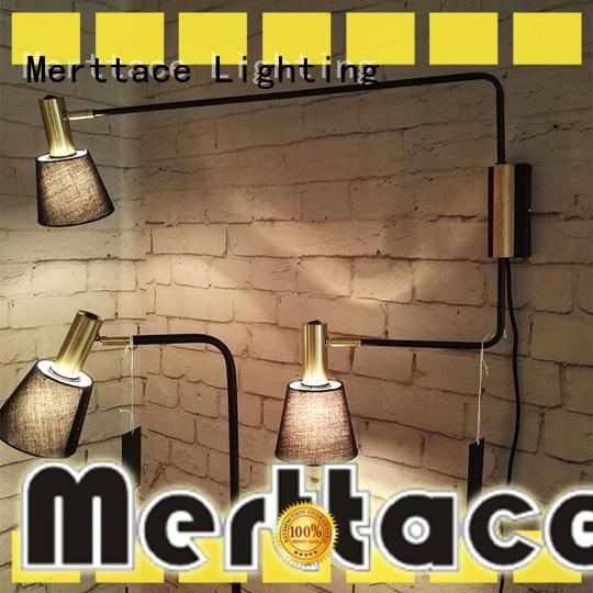 Merttace attractive wall mounted lamps design for restaurant