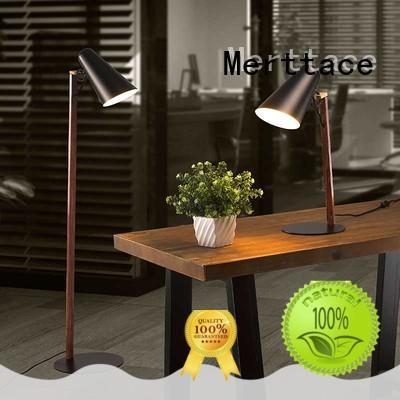 Merttace black floor standing lamps manufacturer for bedside