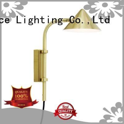 brushed brass wall lamp lighting manufacturer for living room