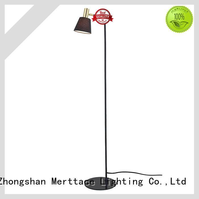 Merttace single head floor reading lamps factory for restaurant