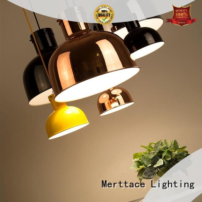 Merttace modern hanging lamps supplier for hotel