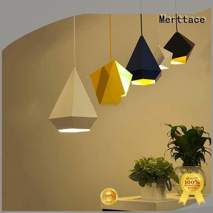 Merttace hanging pendant light fixtures customized for restaurant