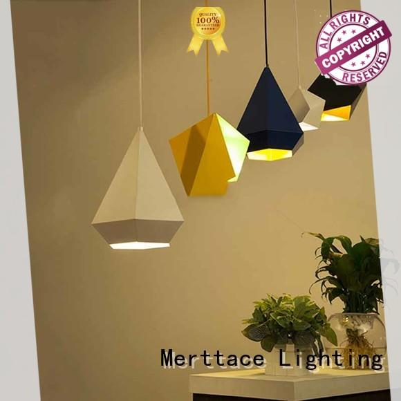 Merttace bamboo pendant fixture directly sale for hotel