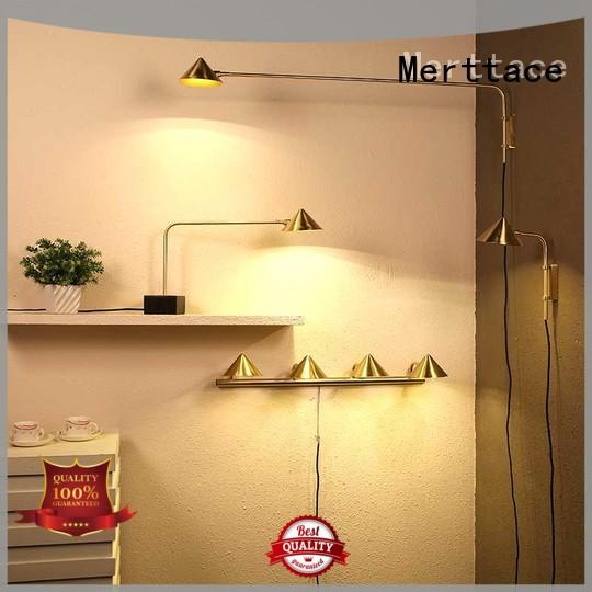 Merttace semi-circular plug in wall lights wholesale for living room