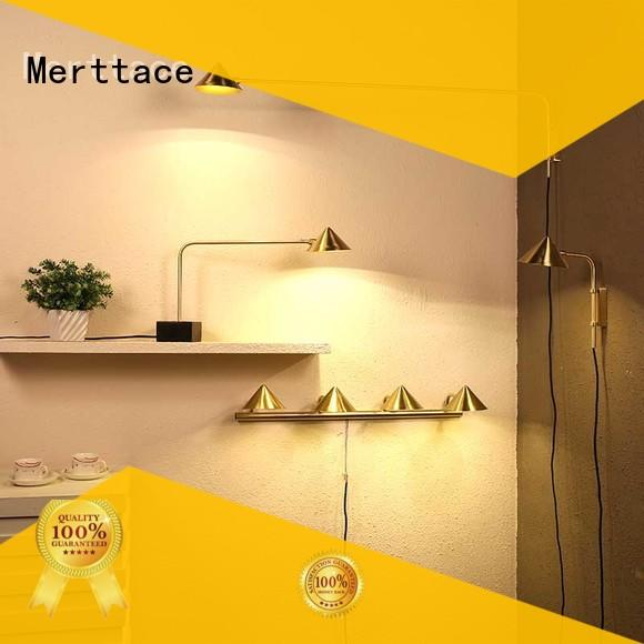 Merttace multi-color flush wall lights factory direct supply for aisle