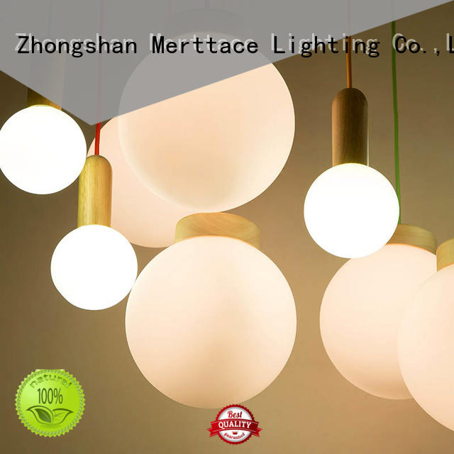 Merttace hanging pendant light fixtures wholesale for hotel