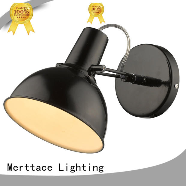 Merttace charging wall mount plug in lamp factory for aisle