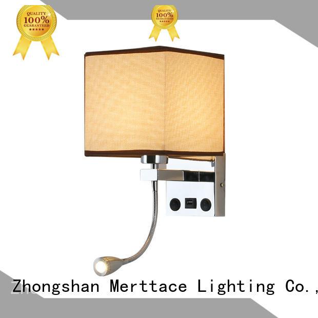 Merttace wall mount plug in lamp factory for living room