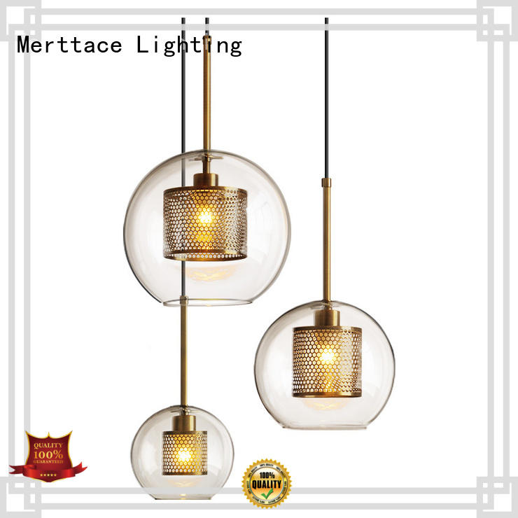 Merttace frosted glass square indoor pendant lighting manufacturer for living room