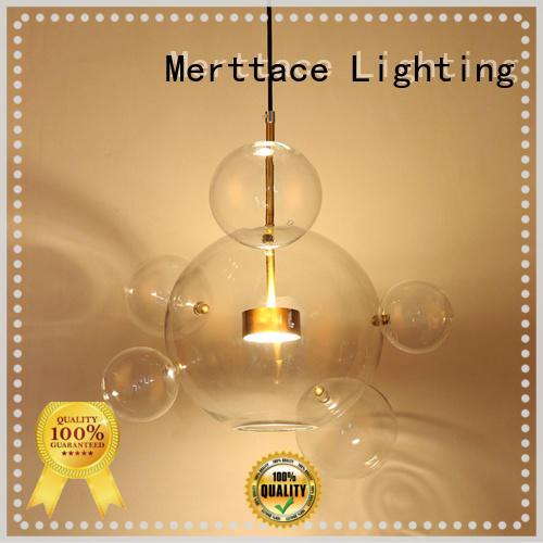 Merttace hanging pendant light fixtures supplier for restaurant