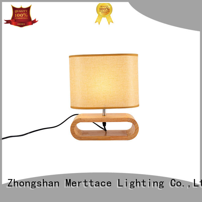 Merttace end table lamps design for reading