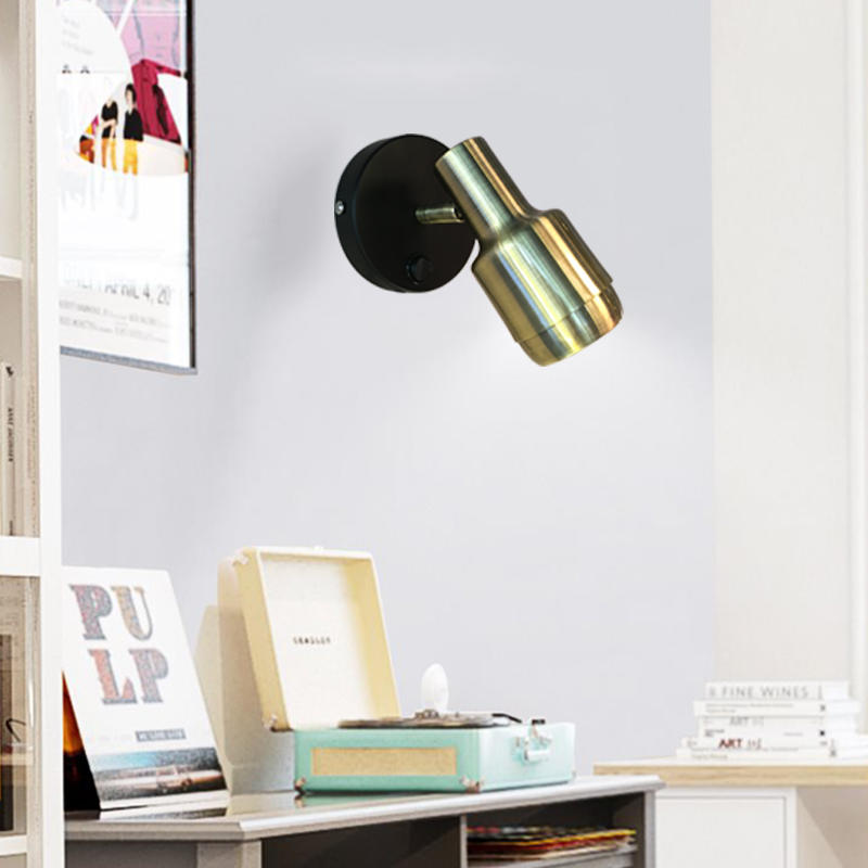 Rotatable Small Brushed Brass wall lamp for living room M4034