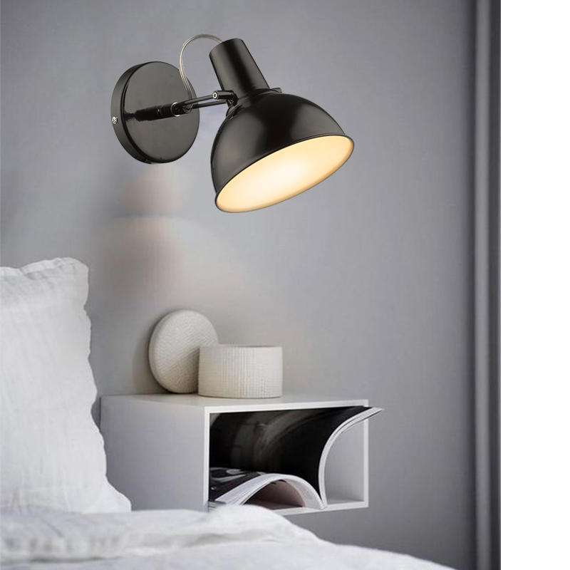 Swing Head Horn Shape Wall Lamp for Living Room M40047