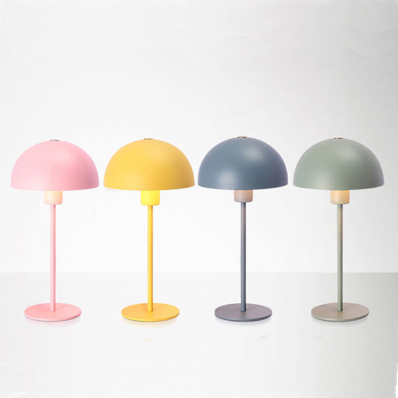 Macaron Round Iron Shade Reading Table Lamp M20060
