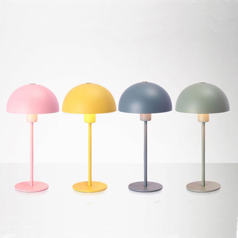 Macaron Round Iron Shade Reading Table Lamp M20060