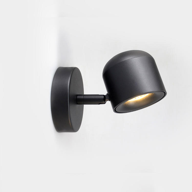 Modern Design Shaking Head Led Wall Lamp M40149