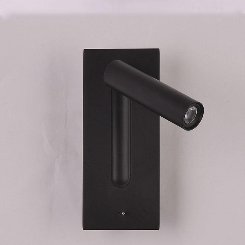 Hotel Room 3W LED Rotating Reading Wall Lamp M40167