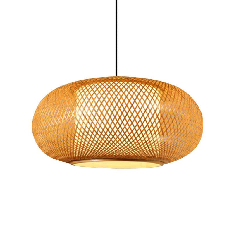 Chinese Traditional Lantern Bamboo Pendant Light for Restaurant M10903