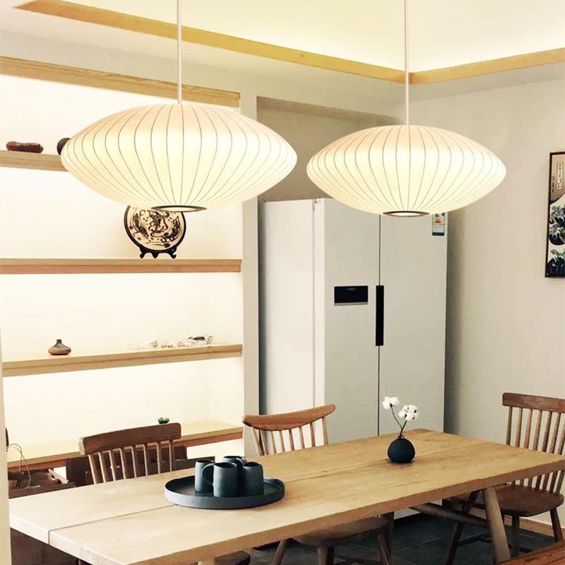 Chinese Style Modern Design Silk Lantern Chandelier for Hotel Lobby M10919