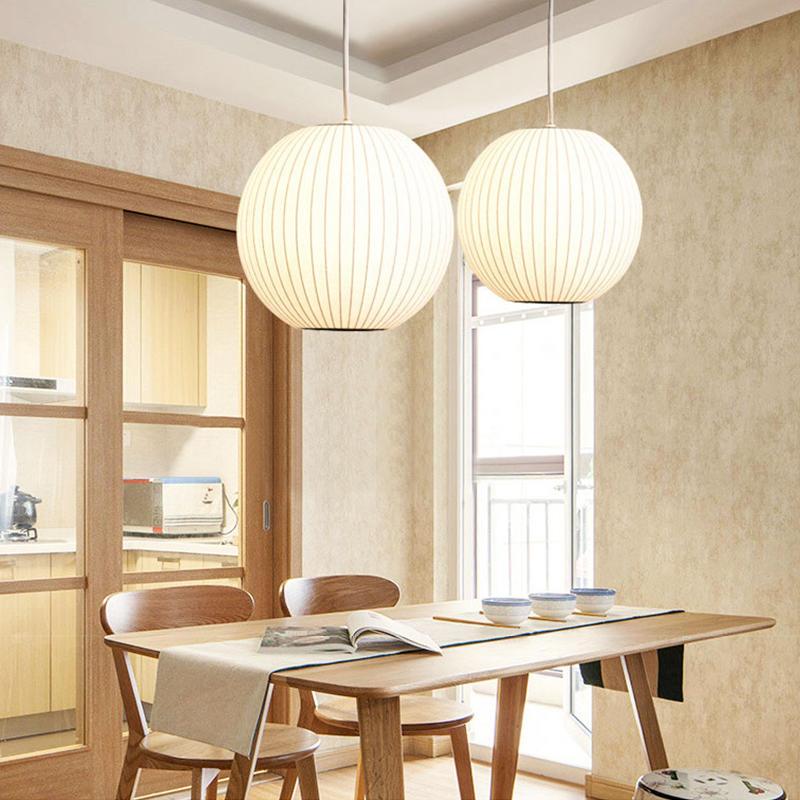 New Chinese Style Silk Lantern Globe Chandelier Pendant Light for Restaurant M10920