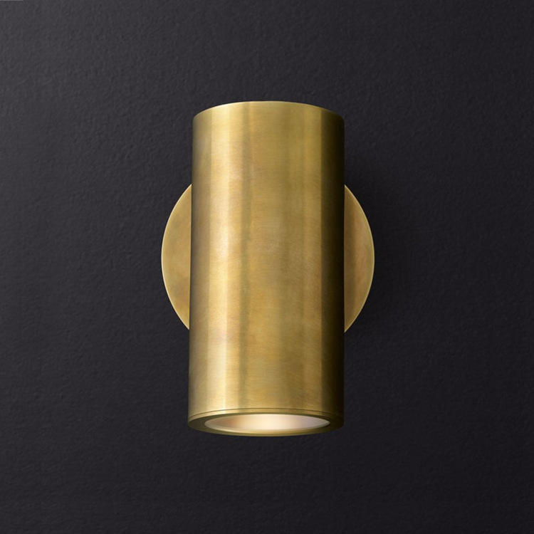Moving Head Luxury Copper Wall Lamp M40276