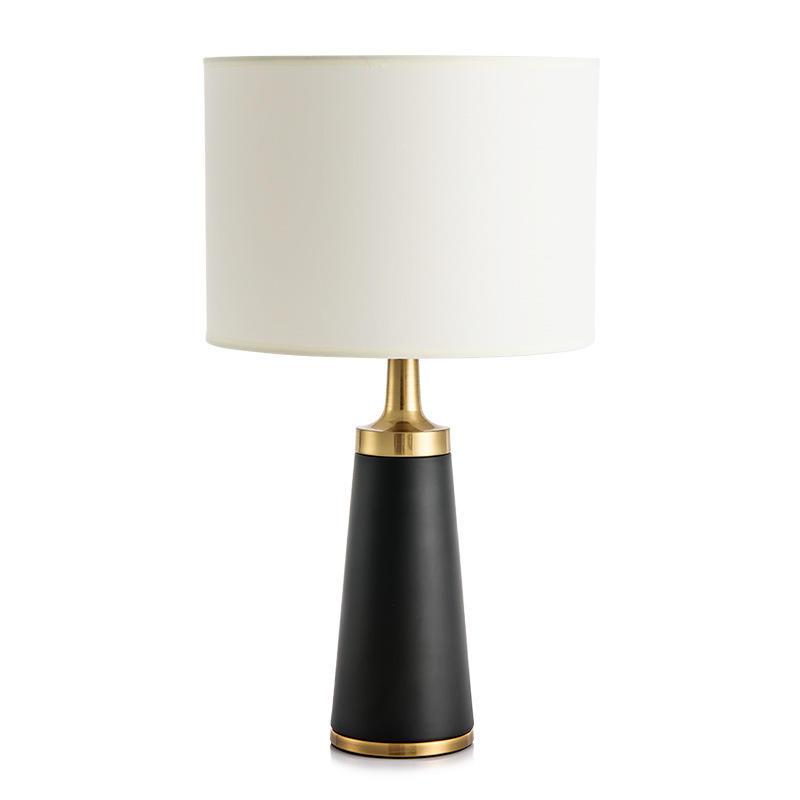 Luxury Modern Design Hotel Table Lamp White Fabric Lamp Shade  OEM/ODM Factory M20255