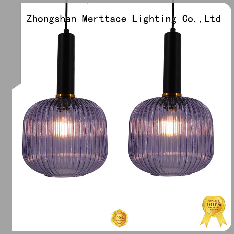 Merttace multi-color modern hanging lamps with good price for living room